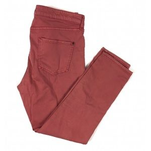 Pilcro and the Letterpress Stet Slim Cropped Jean